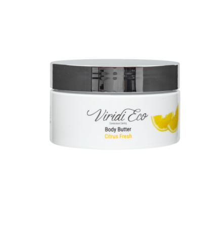 Body butter citrus fresh
