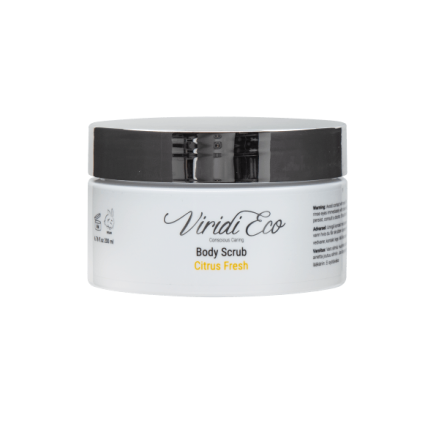 Body scrub citrus fresh